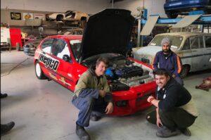 MIT Students and Possum Bourne Motorsport